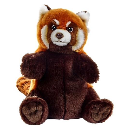 Lelly National Geographic Red Panda Stuffed Hand Puppet image number null