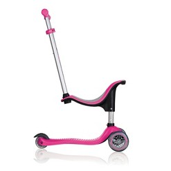Globber Go Up 4 in 1 Scooter - Deep Pink