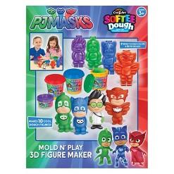 PJ Masks Mold 'N Play 3D Figure Maker