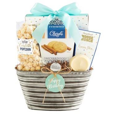 1-800-Baskets Happy Birthday Gift Basket - Deluxe