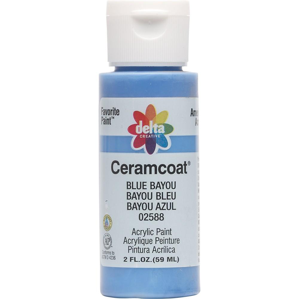 2 fl oz Acrylic Craft Paint Blue Bayou - Delta Ceramcoat