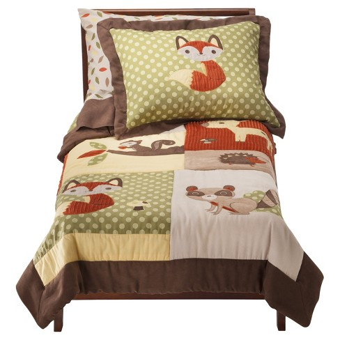Sweet Jojo Designs Forest Friends 5 pc. Toddler Bedding Set - image 1 of 1