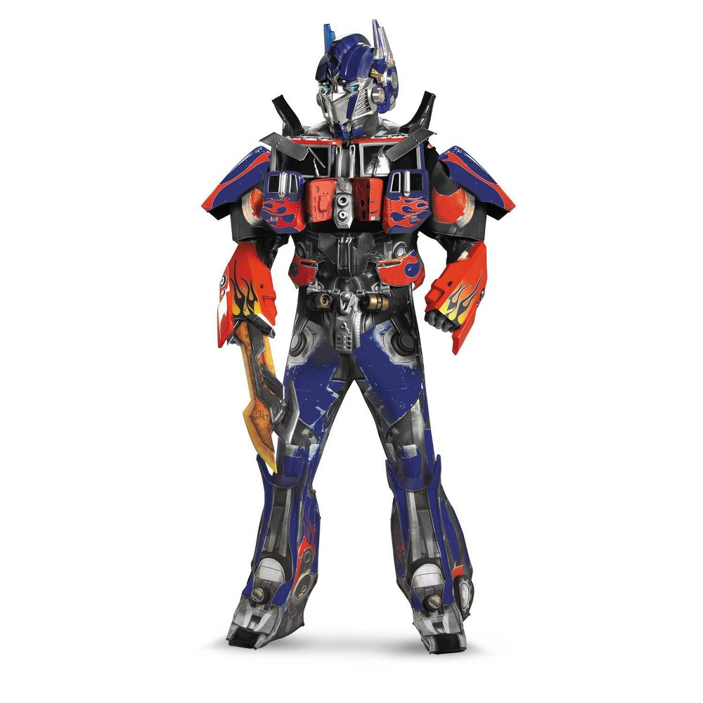 Image of Halloween Adult Optimus Prime Costume XL(42-46), Men's, MultiColored