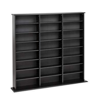 Triple Width Wall Storage - Prepac