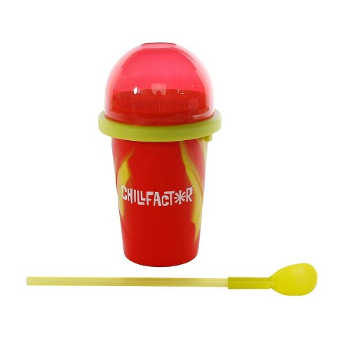 Chill Factor Slushy Maker - Red and Yellow - image 1 of 4