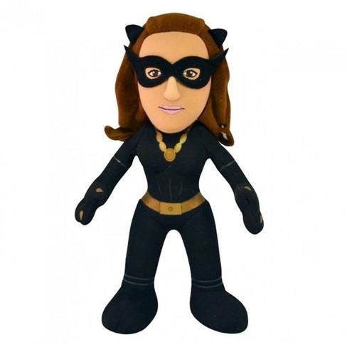 "Bleacher Creatures LLC DC Comics 10"" Plush Doll: Batman '66 Catwoman - image 1 of 1"