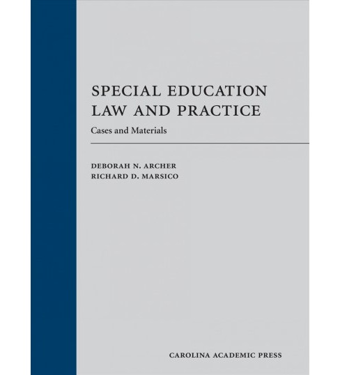 Special Education Law and Practice : Cases and Materials -  (Hardcover) - image 1 of 1