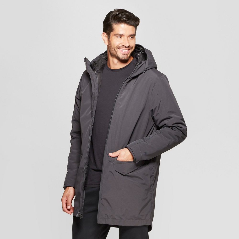 Men's Parka - C9 Champion Charcoal Grey Xxl