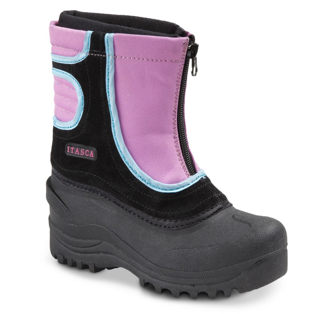 Girls' Itasca Snow Stomper Boots - Raspberry 13, Red