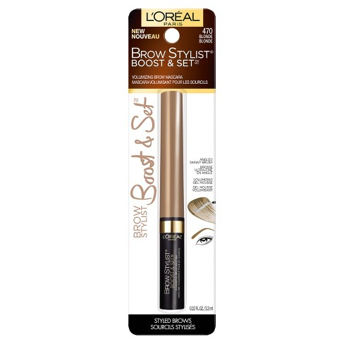 f684196934b L'Oreal Paris Brow Stylist Boost & Set Volumizing Brow Mascara-0.10 Fl Oz :  Target