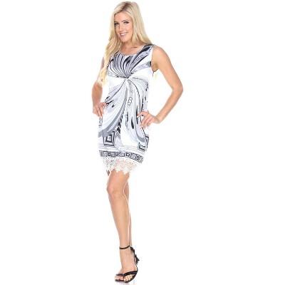 Women's Quinn Shift Dress - White Mark