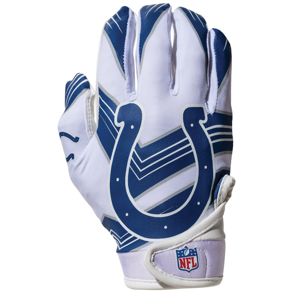 Indianapolis Colts Kids' Receiver Gloves - M