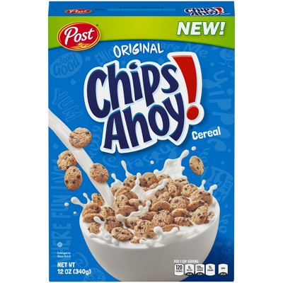 Breakfast Cereal: Chips Ahoy