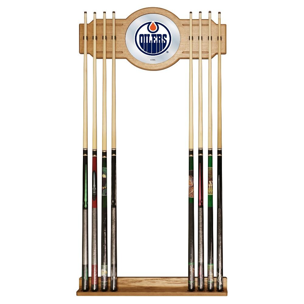ACE/NORTH HILLS Edmonton Oilers Cue Rack with Mirror
