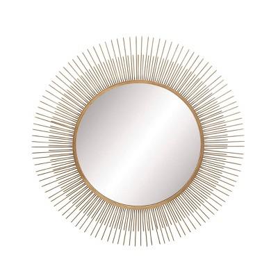 """36"""" Modern Radial Wall Mirror - Olivia & May"""
