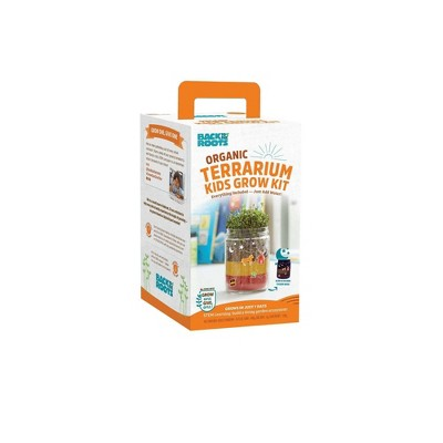 Back to the Roots Organic Terrarium Kids' Grow Kit