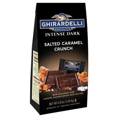 Ghirardelli Intense Dark Salted Caramel Crunch Chocolate - 4.87oz - image 1 of 3