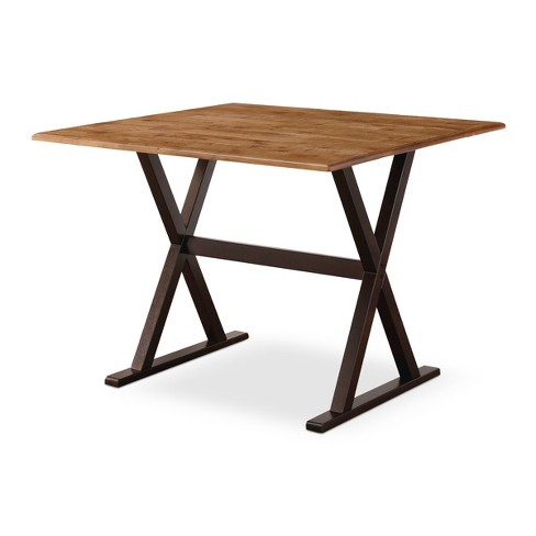 "40"" Square Drop Leaf Rustic Dining Table - Threshold™ - image 1 of 4"