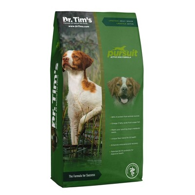 Dr. Tim's Pursuit Active Dog Premium Dry Dog Food