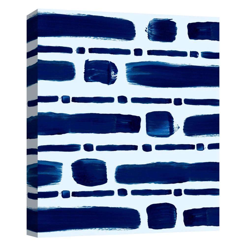 11 34 X 14 34 Brushtrokes Iv Decorative Wall Art Ptm Images