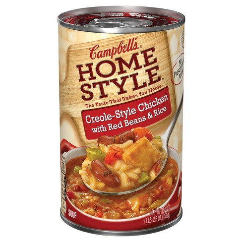 Campbell's® Homestyle™ Creole-Style Chicken with Red Beans & Rice Soup 18.6 oz - image 1 of 5