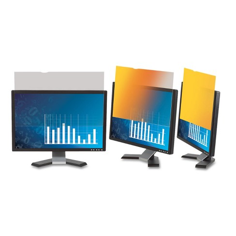 """3M Frameless Gold LCD Privacy Filter for 19"""" Monitor GF190C4B - image 1 of 3"""