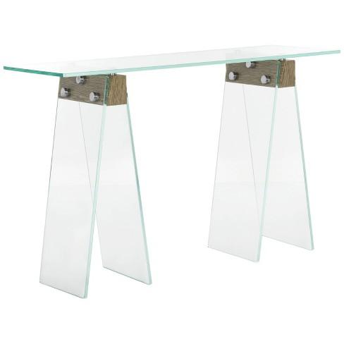 Modern Loft Console Table - Clear - Safavieh®