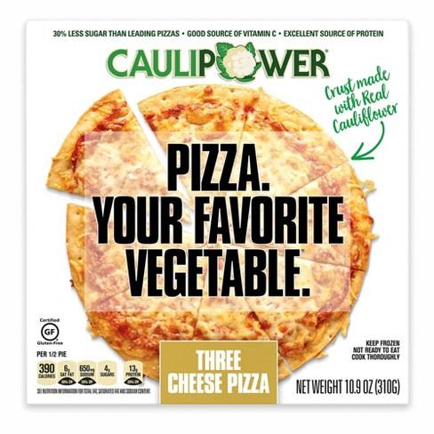 Caulipower Three Cheese Cauliflower Crust Frozen Pizza 10 9oz Target