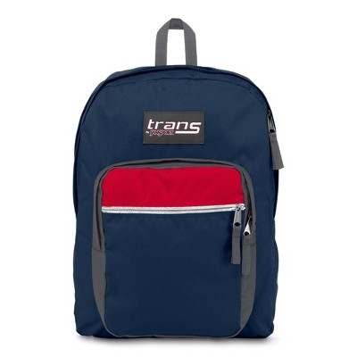 "Trans by JanSport 17"" Supermax Backpack - Navy Block"