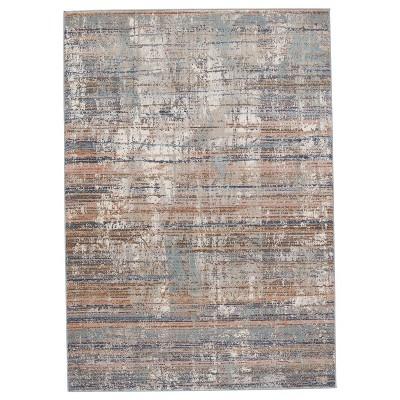 Lysandra Abstract Area Rug Blue/Tan - Jaipur Living