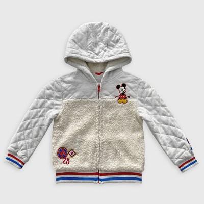 Boys' Disney Mickey Mouse & Friends Fleece Pullover - Gray - Disney Store