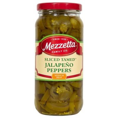 Mezzetta Deli-Sliced Tamed Jalapeno Peppers - 16oz