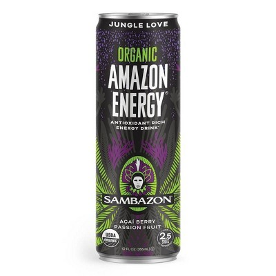 Sambazon Jungle Love Energy - 12 fl oz Can