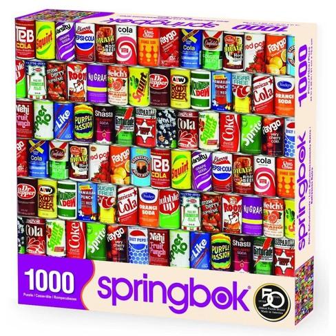 Springbok Retro Refreshments Puzzle 1000pc - image 1 of 3