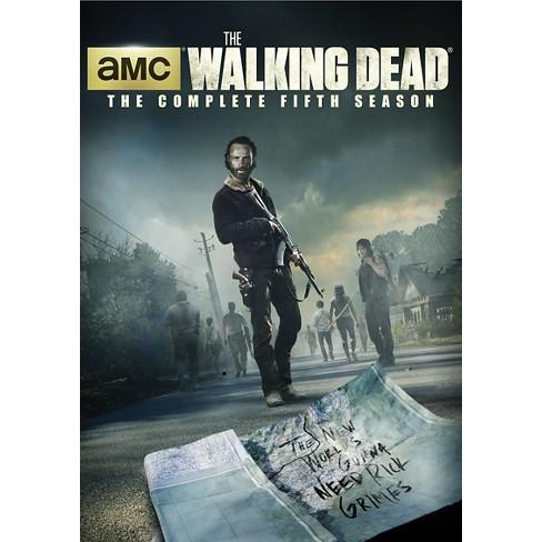 The Walking Dead  Season 5 (5 Discs) (dvd video)   Target 8f643329e406a