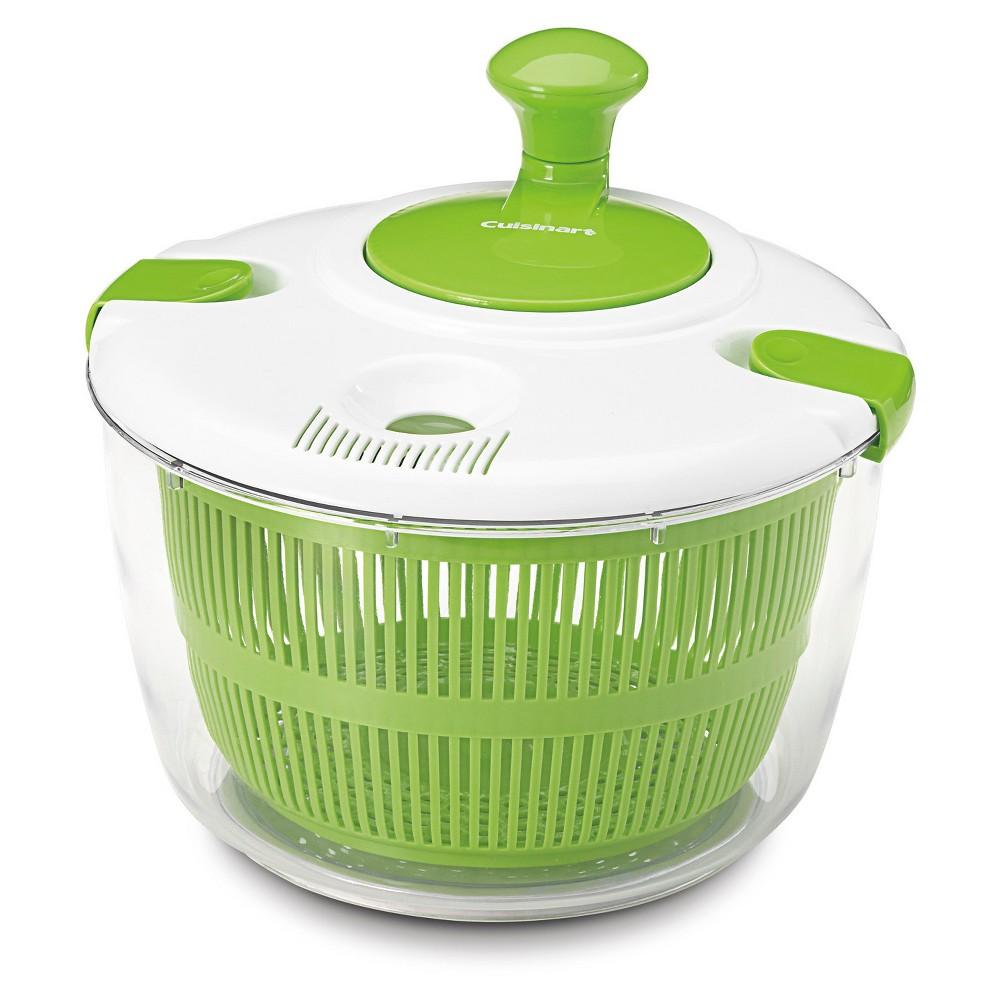 Image of Cuisinart Salad Spinner White, White Green