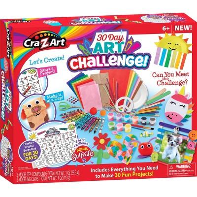 Cra-Z-Art 30 Day Art Challenge Kit