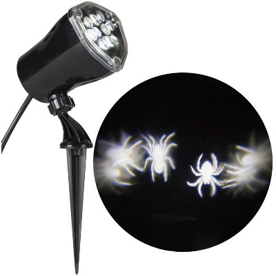 """12"""" LED Halloween Spiders Projector Light"""