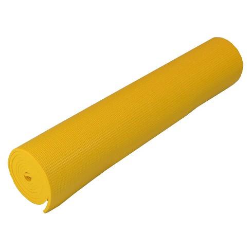 Yoga Direct Yoga Mat - Yellow ( 6mm ) - image 1 of 1