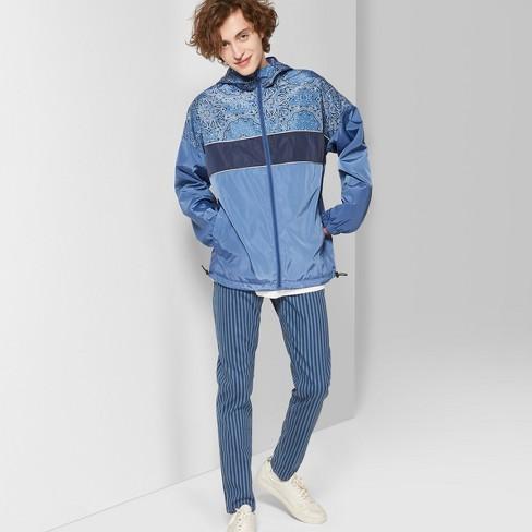 Men's Striped Mid-Rise Vertical Jeans - Original Use™ Blue 42 - image 1 of 3
