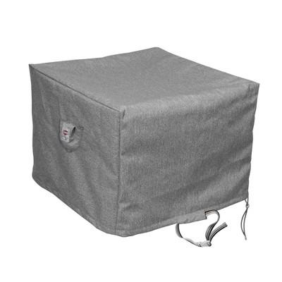"Shield Platinum 3-Layer Water Resistant Outdoor Tea Cart Cover - 37.5x26x32/33.5"" Grey Melange"