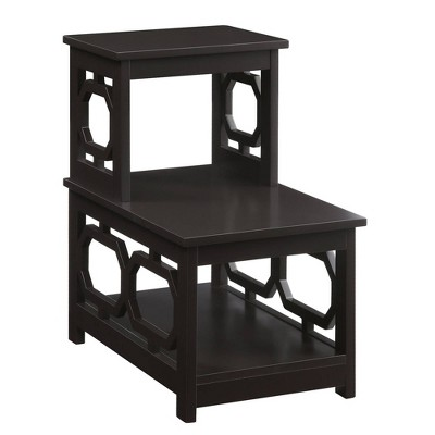 Omega 2 Step Chairside End Table - Breighton Home