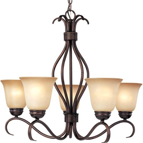 Basix 5 Light Chandelier, ceiling lights
