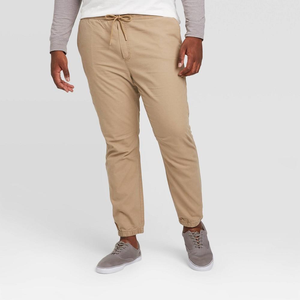 Men 39 S Tall Jogger Pants Goodfellow 38 Co 8482 Tan Lt