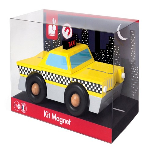 Janod Taxi Magnet Kit - image 1 of 3