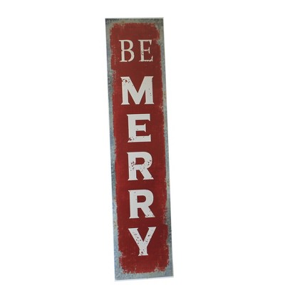 """Christmas 49.5"""" Be Marry Doorsign Freestanding Easel  -  Wall Sign Panels"""