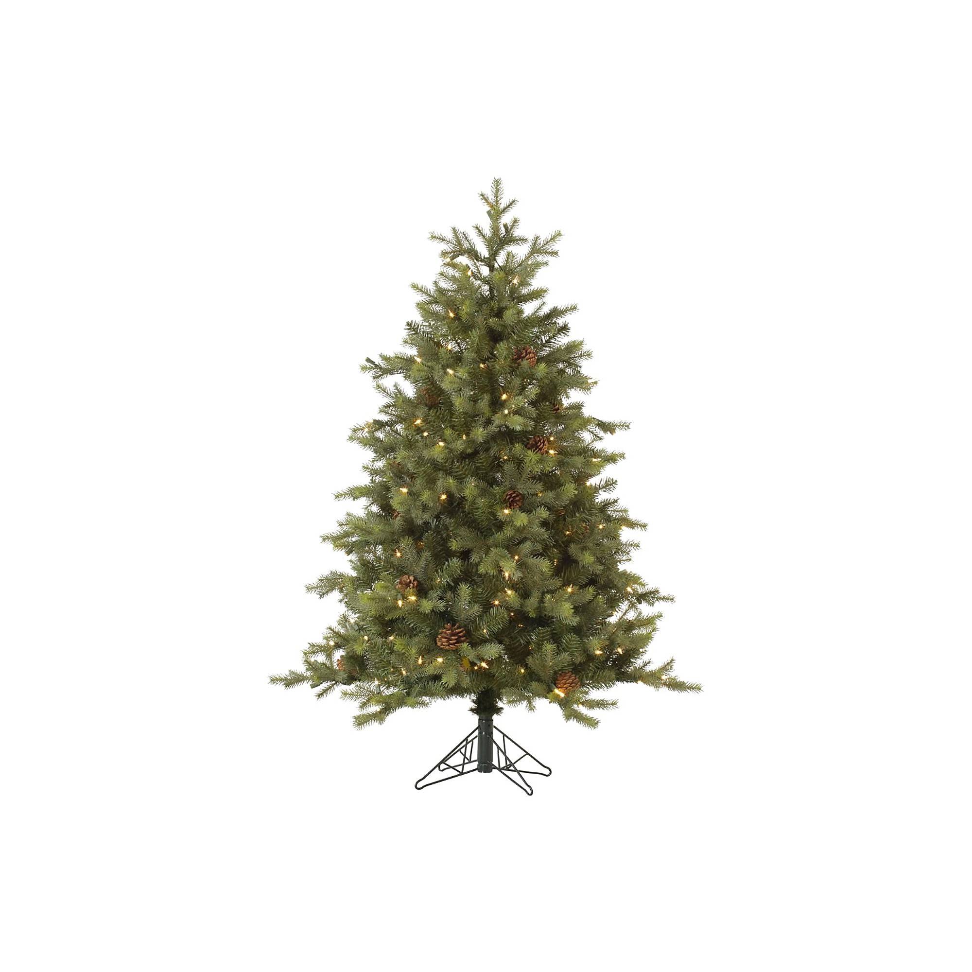 12ft Rocky Mountain Fir Led Pre-Lit Instant Artificial Christmas Tree Full - Multicolor Lights