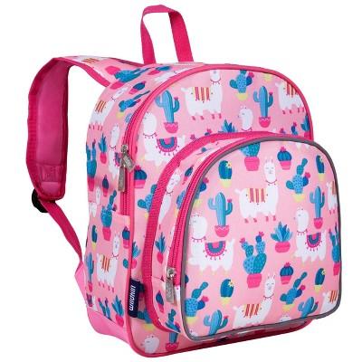 Wildkin Llamas and Cactus Pink 12 Inch Backpack