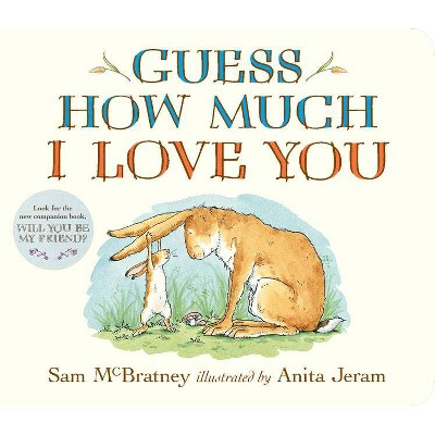 Guess How Much I Love You - by Sam McBratney (Board Book)