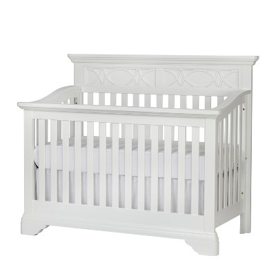 Baby Cache Haven Hill 4-in-1 Convertible Crib - White